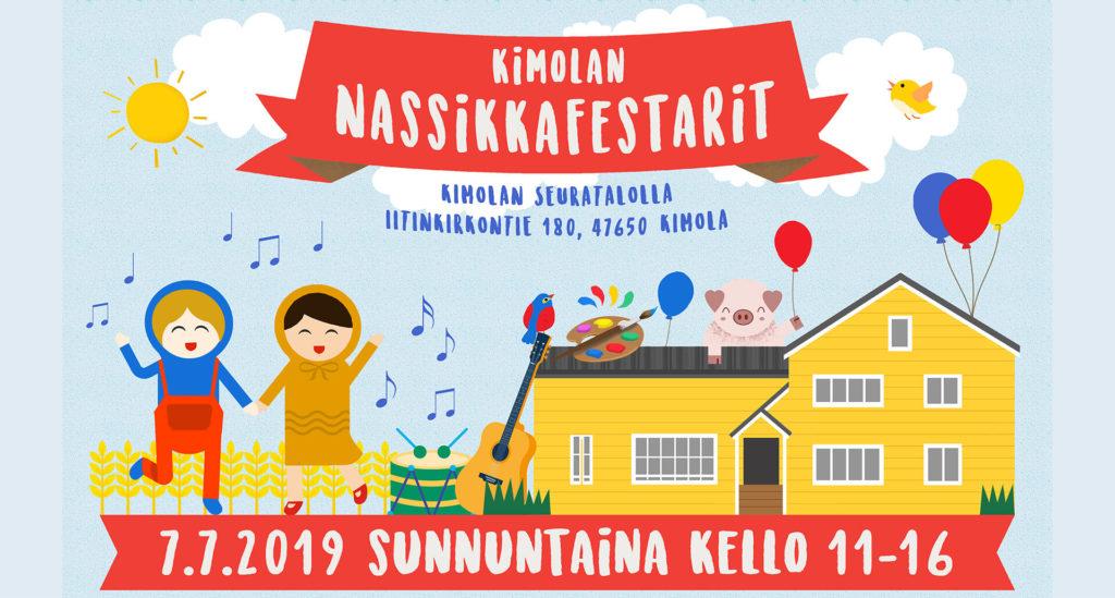 Nassikkafestarit Kimola Kouvola 2019 - lastenfestivaali